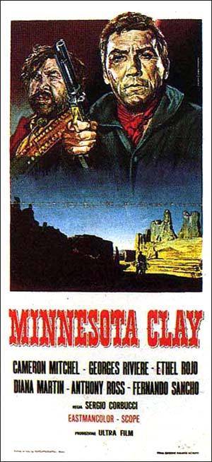 Minnesota Clay Art-House Poster