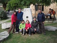 El grup defora del Refugi de Tossals Verds