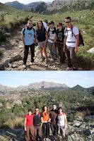 L'equip de Camina per Mallorca que va participar