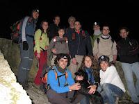 L'equip durant l'excursió!