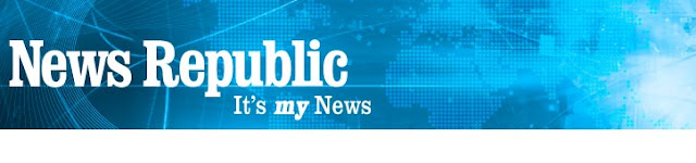 illustration, logo News republic, it's my news, application android