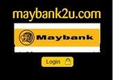 Klik disini untuk pembayaran Maybank2u