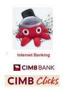 Klik disini untuk pembayaran CIMB Clickss