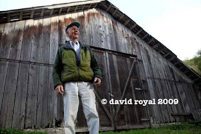 Old Barn, Old Guy and Natural Light