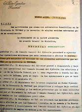 Decreto Operativo Independencia