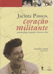 """""""Jacinta Passos, coração militante"""" agora também na Livraria Cultura!"""