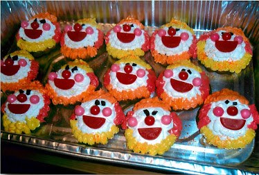 Clownin' Around... With Icing and candy!