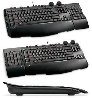 Un teclado para jugadores