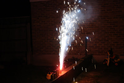 Sparkler on diwali