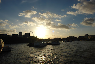 A magical sunset on the River Thames