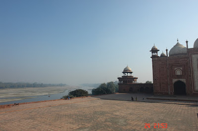 The Taj Complex and the Yamuna