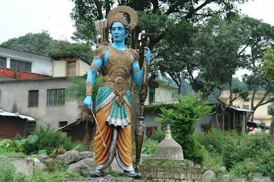 Statue of Lord Rama at Chamunda Devi Temple