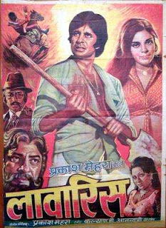 Laawaris - HIndi Film starring Amitabh Bachchan