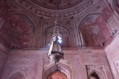 Light through a small window in Fatehpur Sikri
