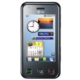 LG KC910 Renoir - Unlocked TriBand Cellular Phone - 8 MP Camera, GPS, WiFi, FM Radio - International Version with No Warranty