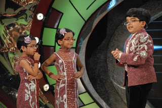 Laado Afsha & Dhairya on Zee TV Lil Champs