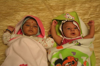 The newborns on the show Shree on Zee TV