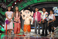 music release of bal ganesh (kids have done playback for the same)