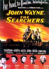 The Searchers, a 1956 epic movie starring John Wayne, and directed by John Ford