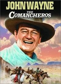 The Comancheros starring John Wayne and Stuart Whitman, released in 1961