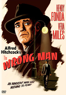 The Wrong man (released in 1956) staring Henry Fonda, struggling to prove themselves innocent