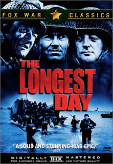 The Longest Day (released in 1962) - starring John Wayne, Robert Mitchum, Henry Fonda, Robert Ryan, Sean Connery and many more - the attack on Normandy