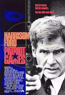 Patriot Games (released in 1992) - starring Harrison Ford and Anne Archer in a story by Tom Clancy about Jack Ryan and terrorists