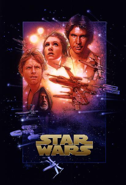 Star Wars Episode IV – New Hope (released in 1977) - the start of the Star