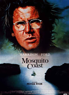 Mosquito Coast.(released in 1986) - starring Harrison Ford, the story of the great dream of a driven inventor