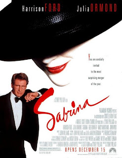 Sabrina (released in 1995) - a romantic comedy starring Harrison Ford, Julia Ormond and Greg Kinnear