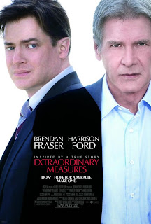Extraordinary measures (released in 2010) - A medical drama starring Harrison Ford and Brendan Fraser