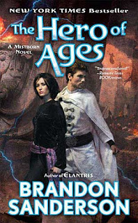 Mistborn The Hero of Ages (published in 2008) - A fantasy book, by Brandon Sanderson