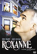 Roxanne (released in 1987) - a comedy in a small town, starring Steve Martin and Daryl Hannah