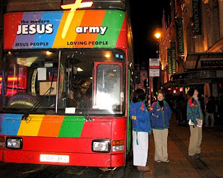 Jesus Army in action
