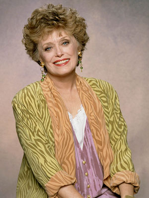 ... Blanche Devereaux, the sex-crazed southern belle on
