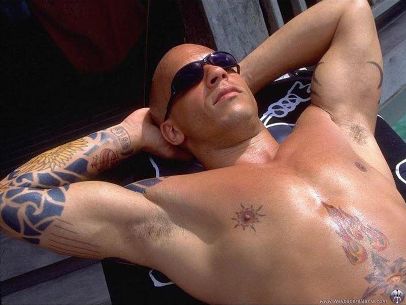 Vin Diesel, un morocho con muchos musculos! title=