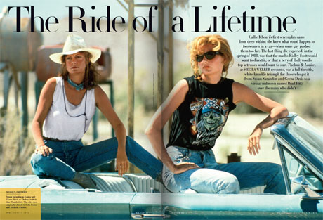 thelma and louise film review Thelma and louise is 20 years old, and to celebrate, 20th century fox has released a 20th anniversary edition of ridley scott's epic female-empowerment movie despite the fact that thelma and .