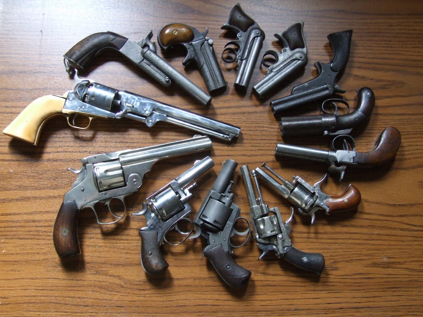 Vintage Hand Guns 50