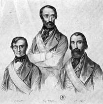 il triunvirato della repubblica