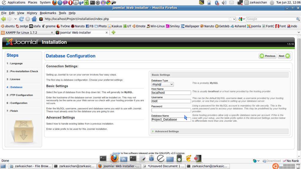 Joomla 1.5 9 stable full package russian v3.tar.gz