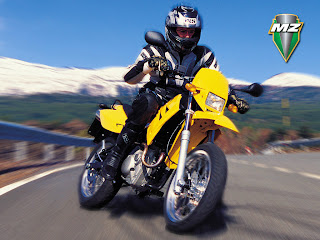 MZ 125 SM Sport Bike Wallpapers
