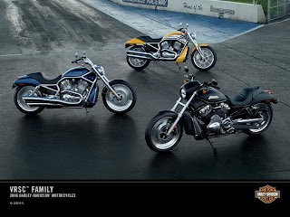 Harley-Davidson VRSC Family 2C 2006 Wallpaper