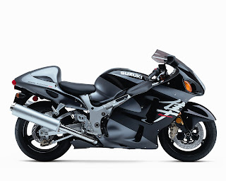Suzuki Hayabusa GSX-1300-R Sports Bike