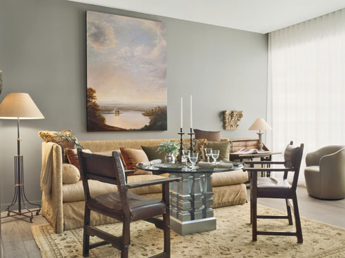 LUSTER INTERIORS Over The Moon For Overscale Art