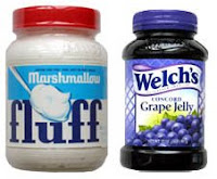 Marshmallow Fluff vs Grape Jelly