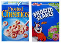 Frosted Cheerios vs Frosted Flakes