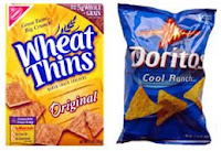 Wheat Thins vs Cool Ranch Doritos
