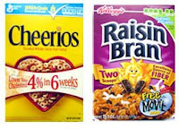 Cheerios vs Raisin Bran