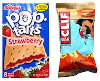 Pop Tart vs Clif Bar