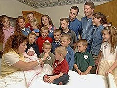 The Duggars celebrating baby #17